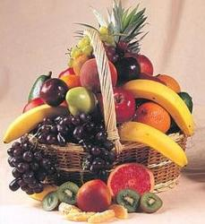 Fresh Fruit Basket from Kinsch Village Florist, flower shop in Palatine, IL