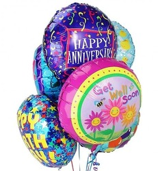 Mylar Balloon from Kinsch Village Florist, flower shop in Palatine, IL