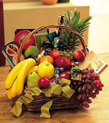 Gourmet Fruit & Cheese from Kinsch Village Florist, flower shop in Palatine, IL