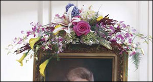 Picture Frame Spray from Kinsch Village Florist, flower shop in Palatine, IL