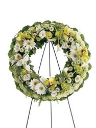 Wreath of Remembrance from Kinsch Village Florist, flower shop in Palatine, IL