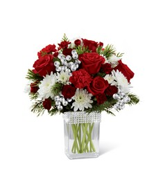 The FTD Happiest Holidays Bouquet from Kinsch Village Florist, flower shop in Palatine, IL