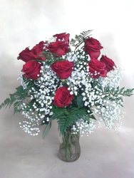 Kinsch's Deluxe Roses from Kinsch Village Florist, flower shop in Palatine, IL