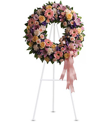 Graceful Wreath from Kinsch Village Florist, flower shop in Palatine, IL