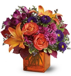 Autumn Chic from Kinsch Village Florist, flower shop in Palatine, IL