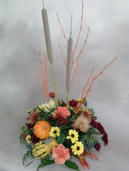 Grace Centerpiece from Kinsch Village Florist, flower shop in Palatine, IL